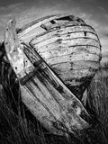 Old fishing boat wreck Royalty Free Stock Image
