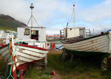 Old fishing boats Stock Photography
