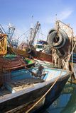Old fishing boats Stock Photos