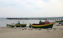 Old fishing boats #2 Royalty Free Stock Photography