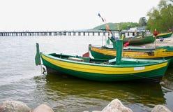 Old fishing boats Royalty Free Stock Photo