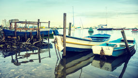 Old Fishing Boats Stock Images