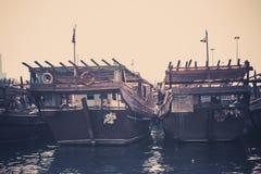 Old fishing boats Royalty Free Stock Image