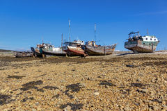 Old fishing boats Royalty Free Stock Photography