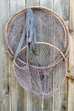 Old fishing cage hanging Stock Photography