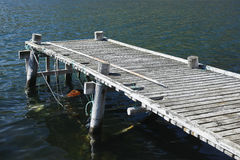 Old fishing dock Royalty Free Stock Image