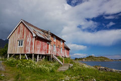 Old fishing house Royalty Free Stock Images