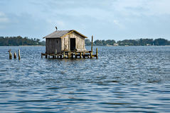 Old Fishing House Stock Photography