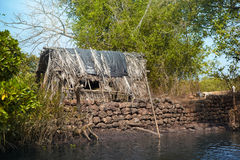 Old fishing house Royalty Free Stock Photos