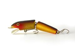 Old fishing lure Stock Photo