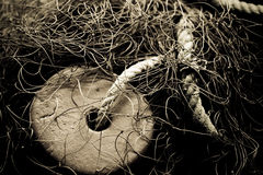 Free Old Fishing Net Royalty Free Stock Photo - 3258015