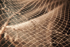 Old fishing net Stock Images