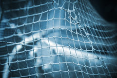 Old fishing net background Royalty Free Stock Photos