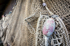 Old fishing net Royalty Free Stock Images