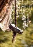 Old fishing net Royalty Free Stock Image
