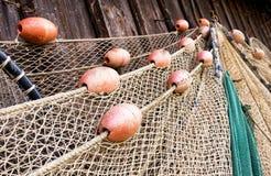 Old fishing net Stock Photos