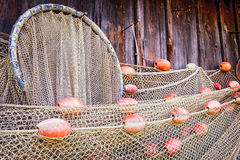 Old fishing net Royalty Free Stock Photos