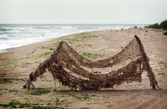 Old fishing net Royalty Free Stock Photo