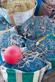 Old fishing nets Stock Image