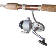 Old fishing reel Stock Photography