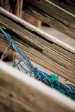 Old fishing rope Royalty Free Stock Photos