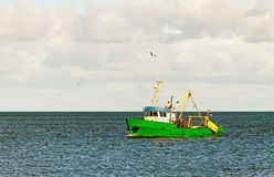 Old fishing ship. Stock Image