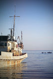 Old Fishing Ship Royalty Free Stock Photography