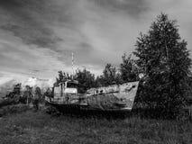 Old  fishing  ship Stock Image