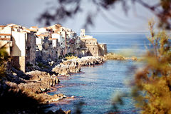 Old fishing town Cefalu Royalty Free Stock Photos