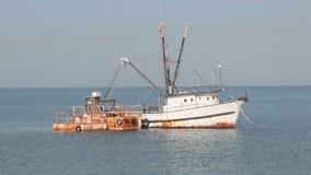 Old fishing trawler in Doha, Qatar Stock Photos