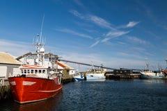 Old fishing trawler Stock Image