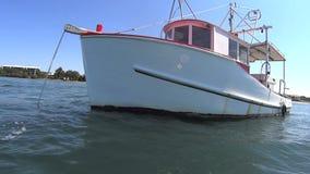 Old Fishing Trawler stock video