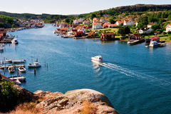 Old fishing village Royalty Free Stock Photography