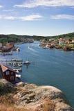 Old fishing village stock photos