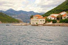 Old fishing village,Kotor Bay,Montenegro. Stock Photo