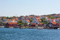 Old fishing village Royalty Free Stock Image