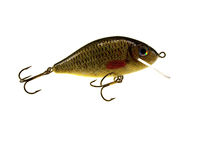 Old fishing wobbler a crucian Royalty Free Stock Photo