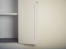 Old fitted cupboard Royalty Free Stock Photography