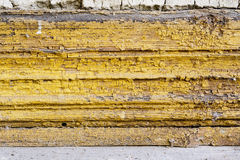 Old, flaking paint Stock Image