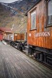 Old Flamsbana train carriage Royalty Free Stock Photos