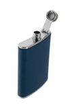 Old flask for alcohol Royalty Free Stock Image