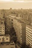 Old flats blocks Royalty Free Stock Photo