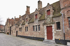 Old Flemish houses Stock Photo