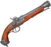 Old flintlock Royalty Free Stock Photos