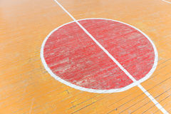 Old floor in the gym Royalty Free Stock Photography