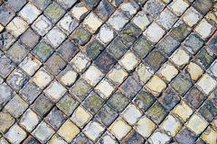 Old Floor Tiles Royalty Free Stock Photography