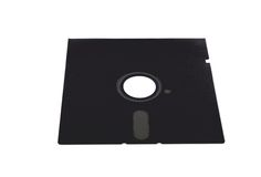 Old floppy disk Stock Photo