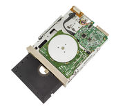 Old floppy disk drive Royalty Free Stock Images