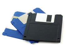 Old floppy disks Royalty Free Stock Photo