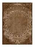 Old floral cover book Royalty Free Stock Photo